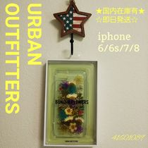 Urban Outfitters iphone6/6s/7/8ハード カラフル押花 41601089
