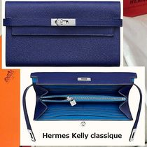 HERMESエルメス 長財布 ●Portefeuille Kelly classique verso●