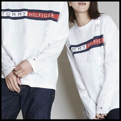 Tommy Hilfiger Tシャツ・カットソー 国内発送・正規品★★TOMMY HILFIGER★★MEN'S LOGO L/S TEE(3)