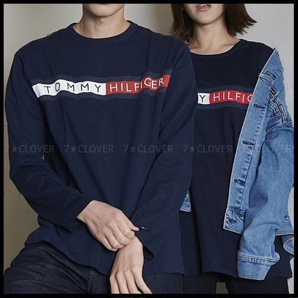 Tommy Hilfiger Tシャツ・カットソー 国内発送・正規品★★TOMMY HILFIGER★★MEN'S LOGO L/S TEE(4)