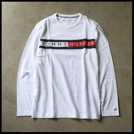 Tommy Hilfiger Tシャツ・カットソー 国内発送・正規品★★TOMMY HILFIGER★★MEN'S LOGO L/S TEE(5)