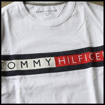 Tommy Hilfiger Tシャツ・カットソー 国内発送・正規品★★TOMMY HILFIGER★★MEN'S LOGO L/S TEE(7)