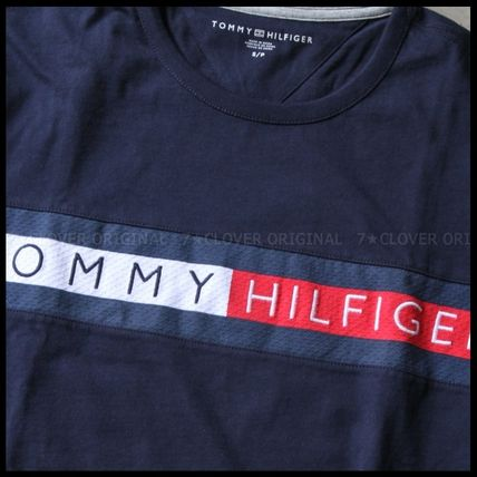 Tommy Hilfiger Tシャツ・カットソー 国内発送・正規品★★TOMMY HILFIGER★★MEN'S LOGO L/S TEE(11)