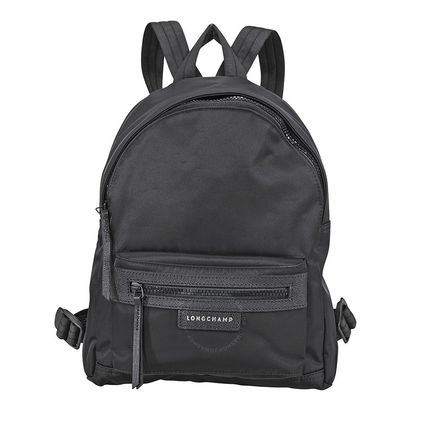 7425f8207e89 Longchamp バックパック・リュック 【ロンシャン】Le Pliage Neo Small Canvas Backpack- Black ...