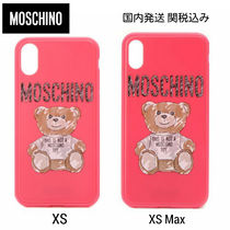 MOSCHINO★TEDDY BEAR テディベア iphoneケース XS /XS Max