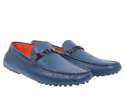 ETRO エトロ Logo Drivers Loafers ローファー