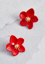 Expected Petals Floral Earrings