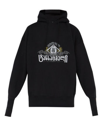 VETEMENTS  Secret Society cotton hooded sweat( 送料・関税込)