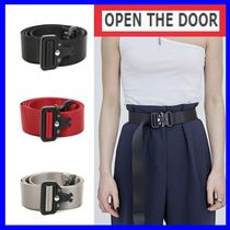 OPEN THE DOOR(オープンザドア) ベルト [OPEN THE DOOR]  rollercoaster belt (3色) -unisex /追跡付