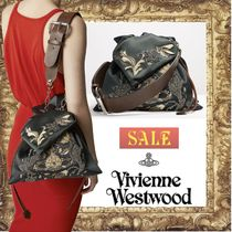 ☆SALE☆Vivienne Westwood DOLLY ビーズ刺繍 サテン バッグ