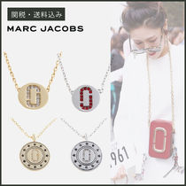 【MARC JACOBS】 DOUBLE J PAVE PENDANT ネックレス