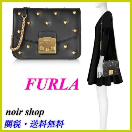 【FURLA】Metropolis Amoris Small Crossbody Bag ハート