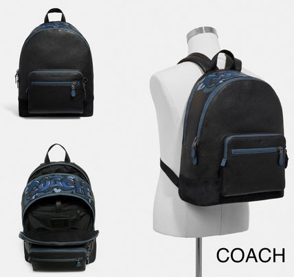 【COACH】メンズ☆WEST BACKPACK☆F50482☆A4サイズ収納可能