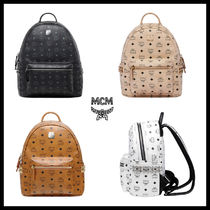 【MCM】SMALL STARK BACKPACK_MMK6SVE37★正規品 リュックサック