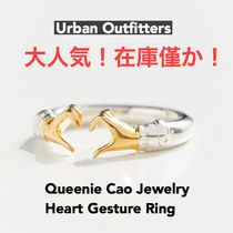 UrbanOutfitters/ゴールド・シルバーリング/Heart Gesture Ring