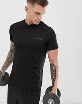 ASOS 4505 training t-shirt with quick dry in black