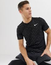 Nike Running Just Do It All Over Print In Black AA9384-010