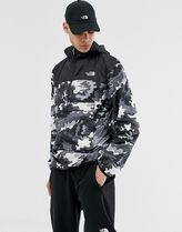The North Face Novelty Fanorak in Psychedelic black