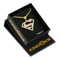 LA発★King Ice★HipHopペンダント The Superman (cut out)