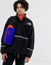 The North Face 92 Rage fleece anorak in black