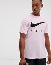 Nike Training dry althlete t-shirt in pink