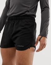 ASOS 4505 running shorts in short length with mesh panel i