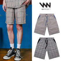 WV PROJECT★MERRY CHECK SHORT PANTS 2カラー