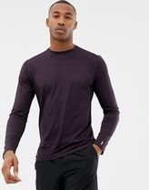 New Look SPORT long sleeved t-shirt in purple