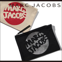 【MARC JACOBS】 手描き風ロゴ プリント☆ポーチ☆2カラー☆