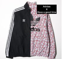 adidas x have a good time リバーシブル track top