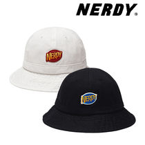 [NERDY] Dome Bucket Hat  バケット帽子2色 バケットハット