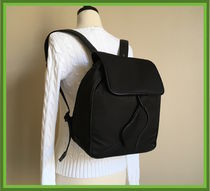 Cole Haan Zerogrand Nylon Leather-Trimmed Backpack 限定1点