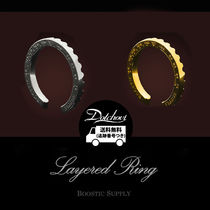 BOOSTIC SUPPLY 18K GOLD LAYERD RING MH269 / 追跡付