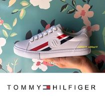 Sale:スタンプロゴTommy Hilfiger Lindeeトミーカラースニーカー