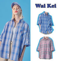 Wai Kei(ワイケイ) シャツ THE BOYZ [WAIKEI] HOT SUMMER OPEN HALF SLEEVE CHECK SHIRTS