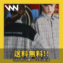 ★WV PROJECT★ MERRY CHECK SHORT-SHIRTS_SWSS7287