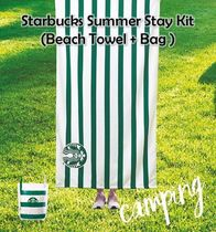 韓国限定★Starbucks Summer Stay Kit★ Beach Towel & Bag