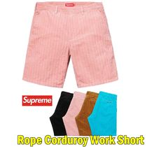 Supreme シュプリーム Rope Corduroy Work Short SS19 WEEK 11