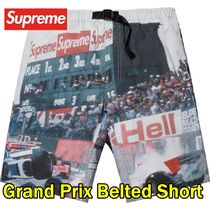 Supreme シュプリーム  Grand Prix Belted Short  SS19 WEEK 11