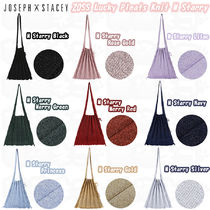 ★JOSEPH&STACEY★Lucky Pleats Knit M Starryバッグ(全6色)