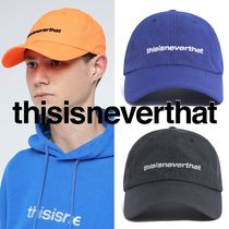 〜thisisneverthat〜 HSP LOGO CAMP CAP 3色[BK,BU,OR] 人気★彡