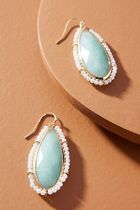 【Anthropologie】新作!Emilie Pearl-Wrappedピアス・Mint