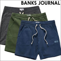 BANKS JOURNAL ウォークショーツ BIG BEAR FLEECE WALKSHORT