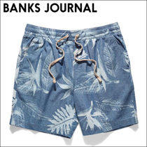 BANKS JOURNAL ウォークショーツ BLOOM CHAMBRAY WALKSHORT