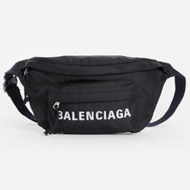 SS19 BALENCIAGA EVERYDAY LOGO BELT BAG