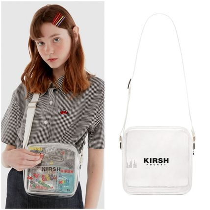 KIRSH 19SS新作 POCKET PVC MINI BAG IH (クリア)
