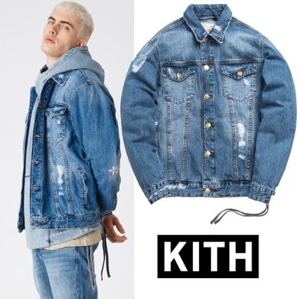 KITH LAIGHT DENIM JACKET☆STELLA 2.0 WASH☆デニムジャケット