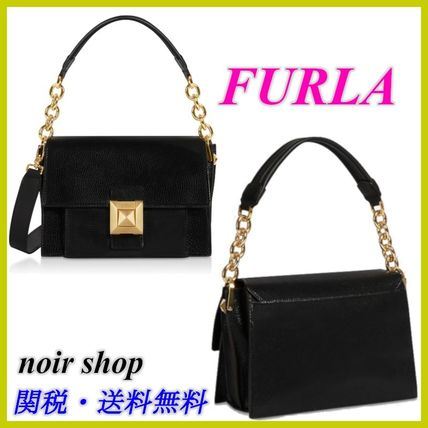 【FURLA】Onyx Diva Mini Shoulder Bag 2WAY ブラック