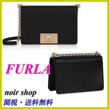 【FURLA】Mimi Mini Crossbody Bag ブラック