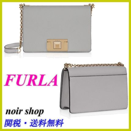 【FURLA】Mimi Mini Crossbody Bag ブルー